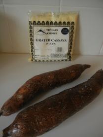 Fresh and frozen grated Cassava