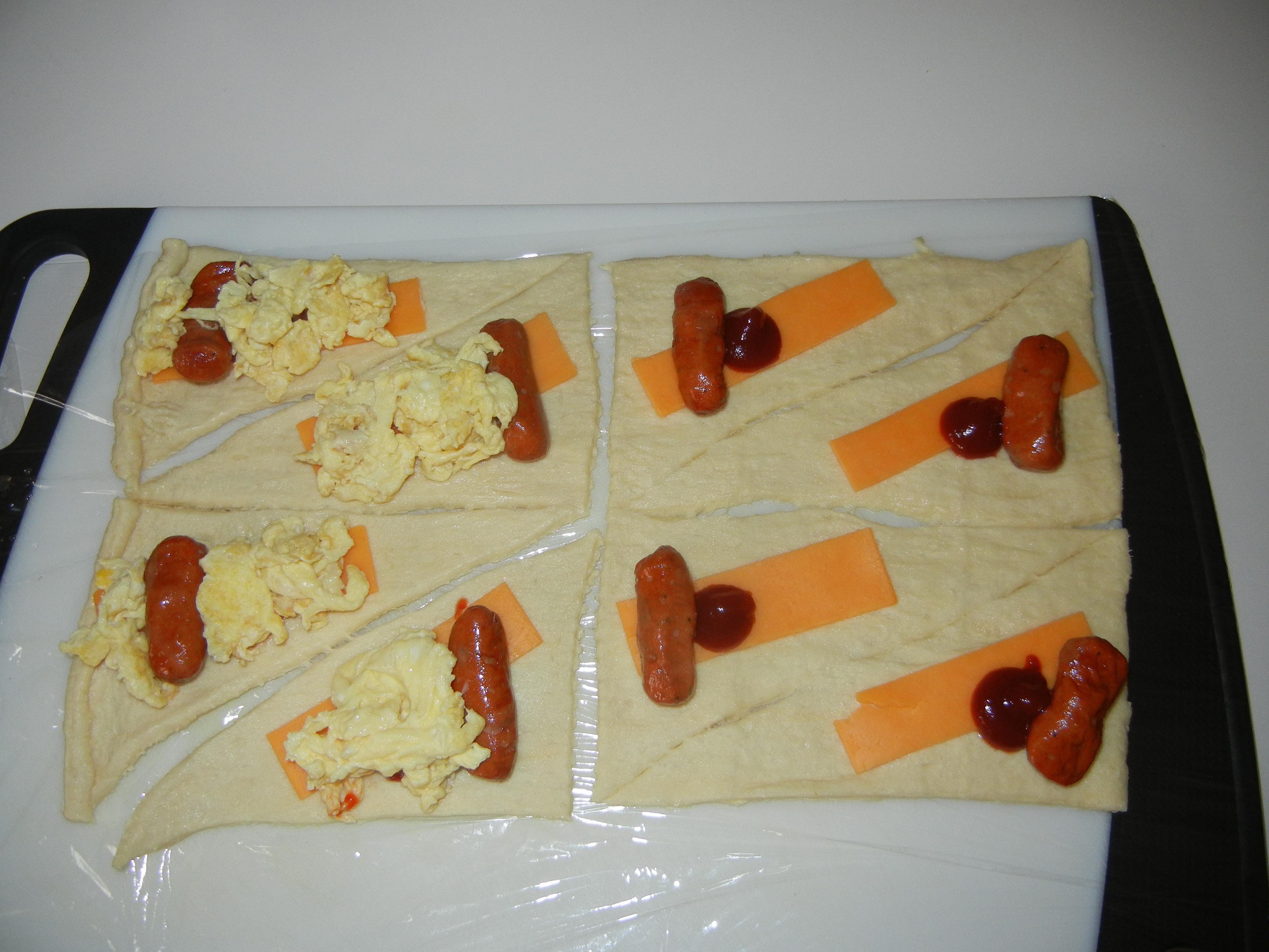 Eggs and Smokies in a Blanket  Annas Cuisine
