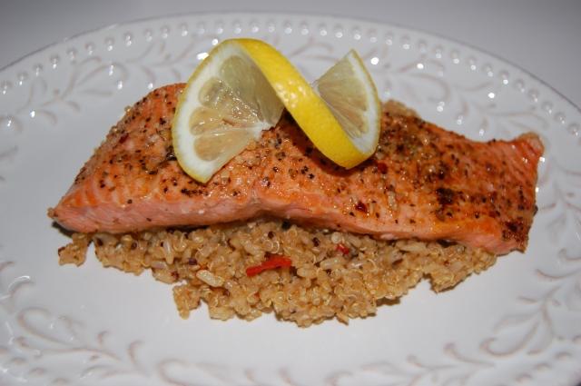 Quick salmon dinner 6