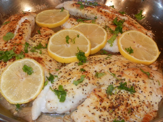 EASY PAN-GRILLED TILAPIA