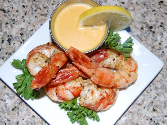 Zesty and Tangy Shrimp Appetizer