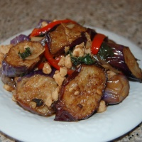 Thai Eggplant with Garlic Bean Sauce