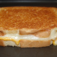 Super Easy Grilled Cheese Sandwich