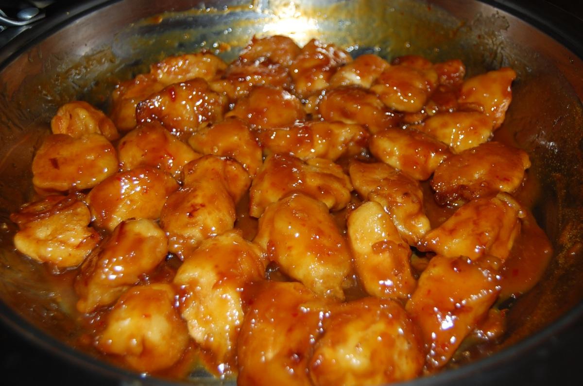 Homemade Orange Chicken Anna S Cuisine