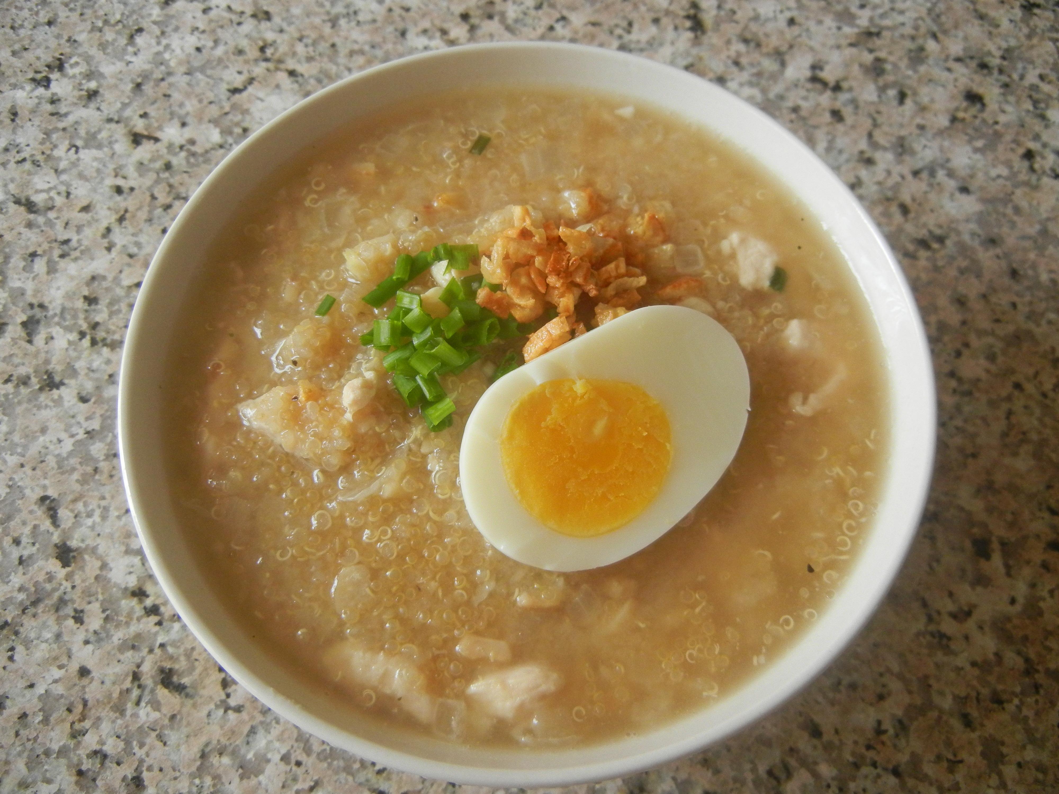 Quinoa Congee Soup | Anna's Cuisine