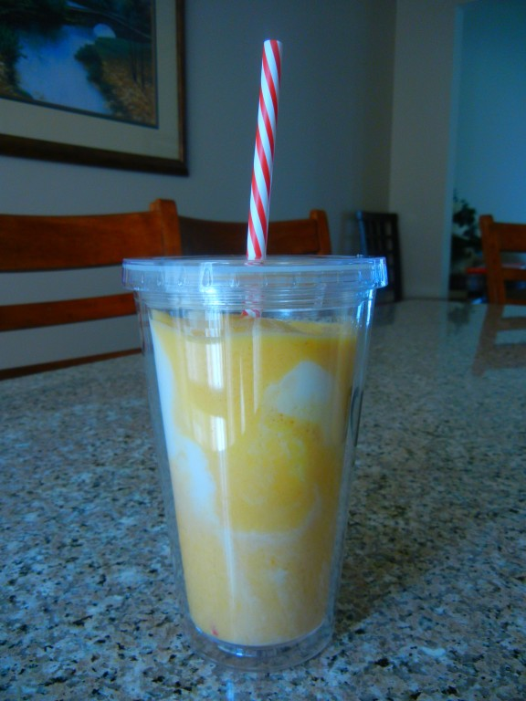 Spiced Mango frothy