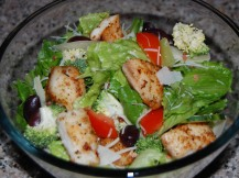 Warm Tilapia Salad