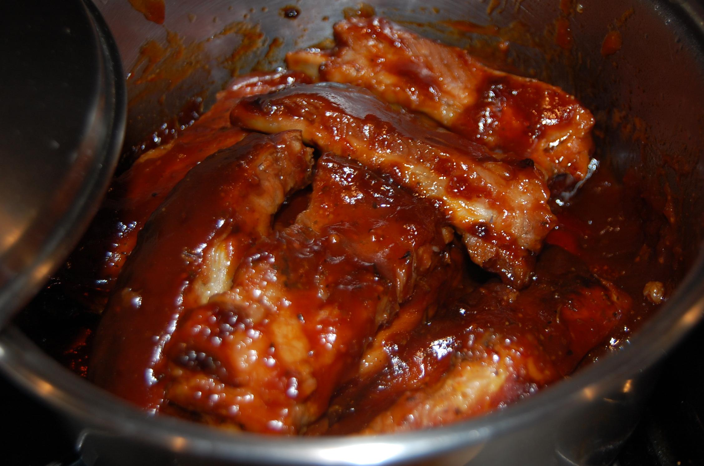 Stove Top Barbecue Pork Ribs | Anna's Cuisine