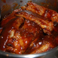 Stove Top Barbecue Pork Ribs