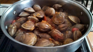 Add the clams