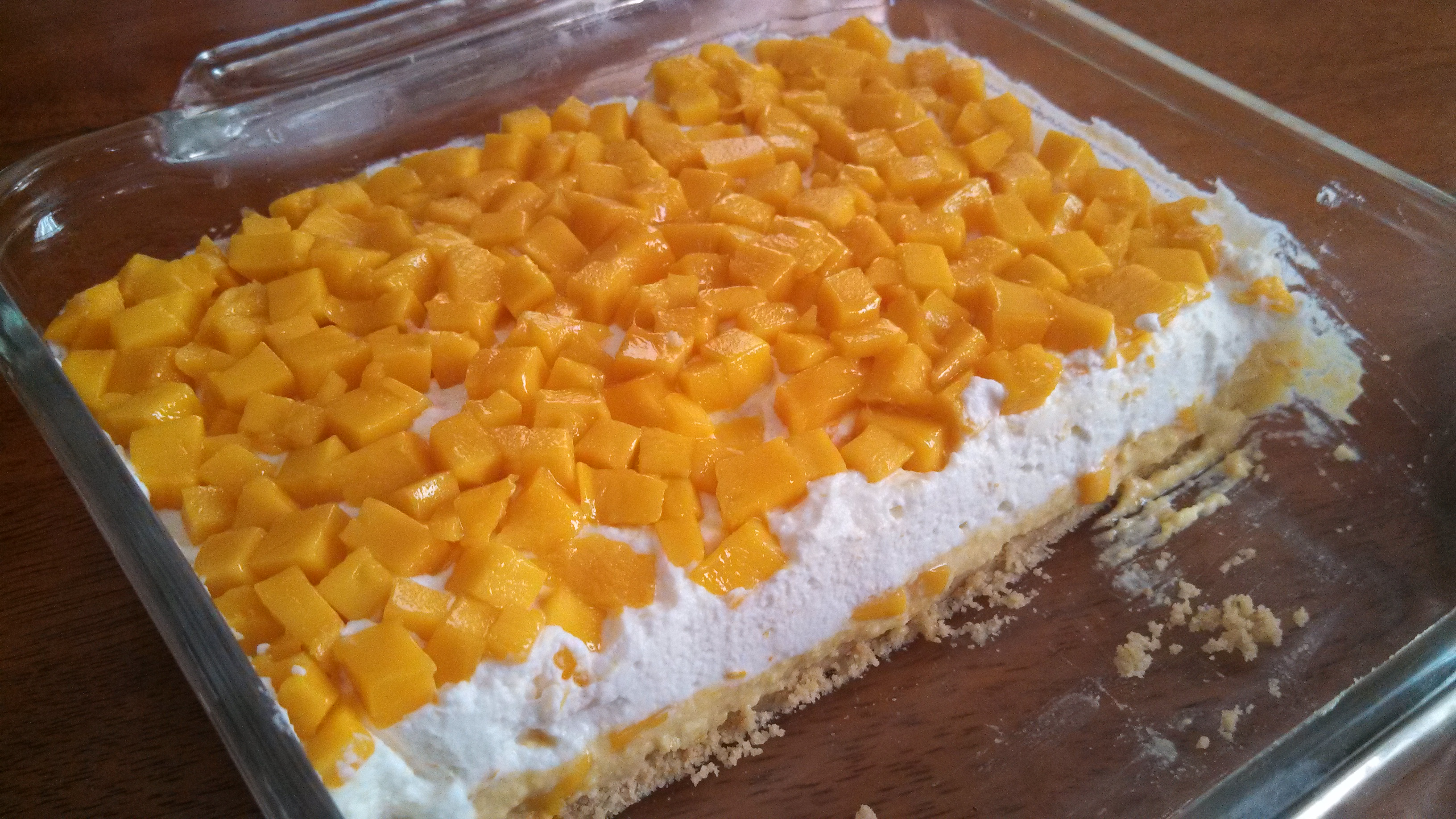 recipe: mango dessert recipe no bake [20]