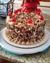 Mocha Crunch Cake