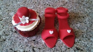 Fondant Hat and Shoes