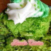 Buko Pandan Cupcakes (Coconut Screw Pine)