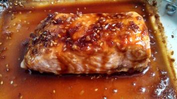 Sesame Teriyaki Salmon