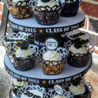 How to Make a Simple 3-tier Graduation Cupcake Stand