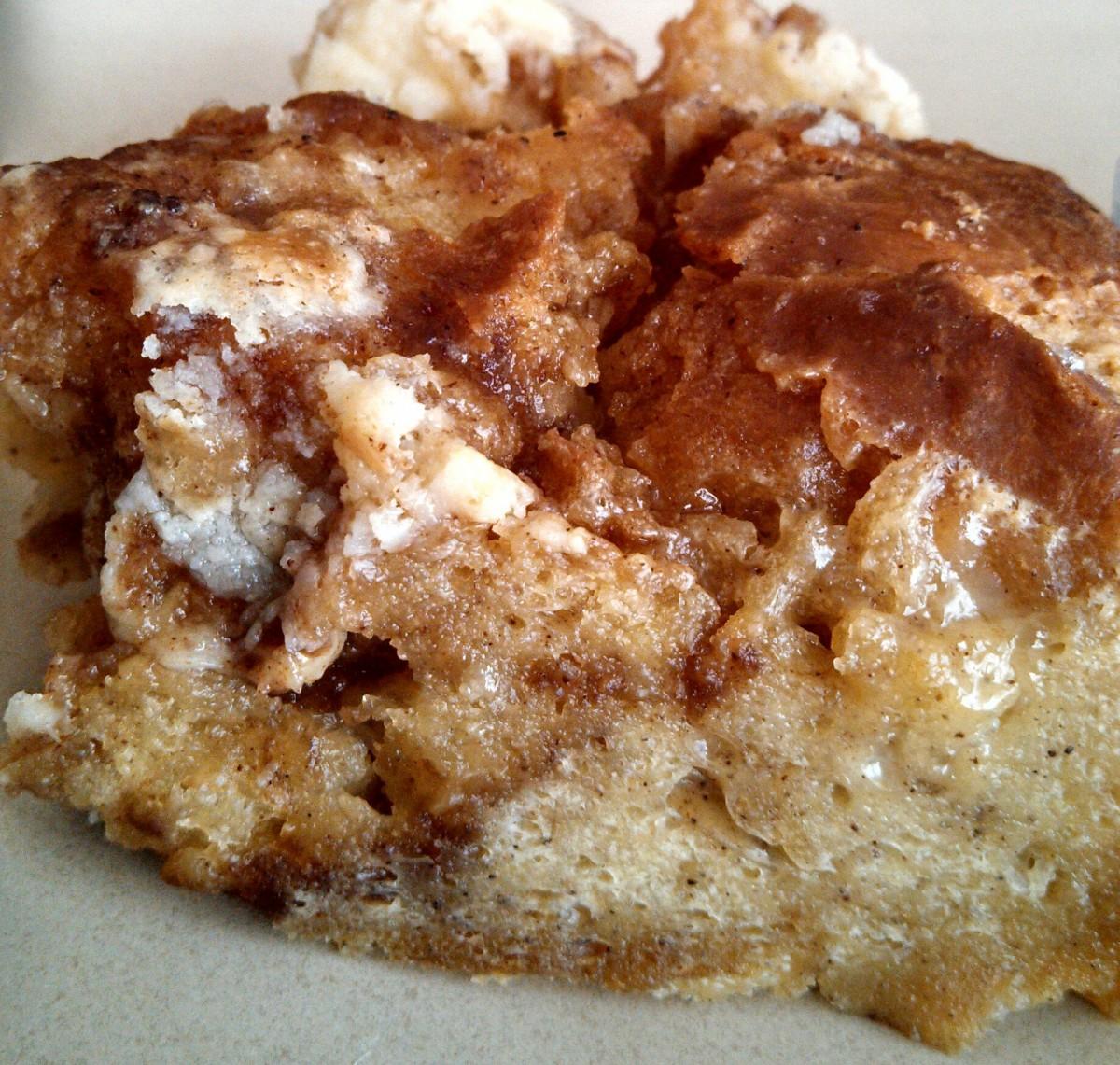 Cinnamon Rolls Bread Pudding