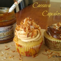 Cassava Cupcakes Frosted Two ways
