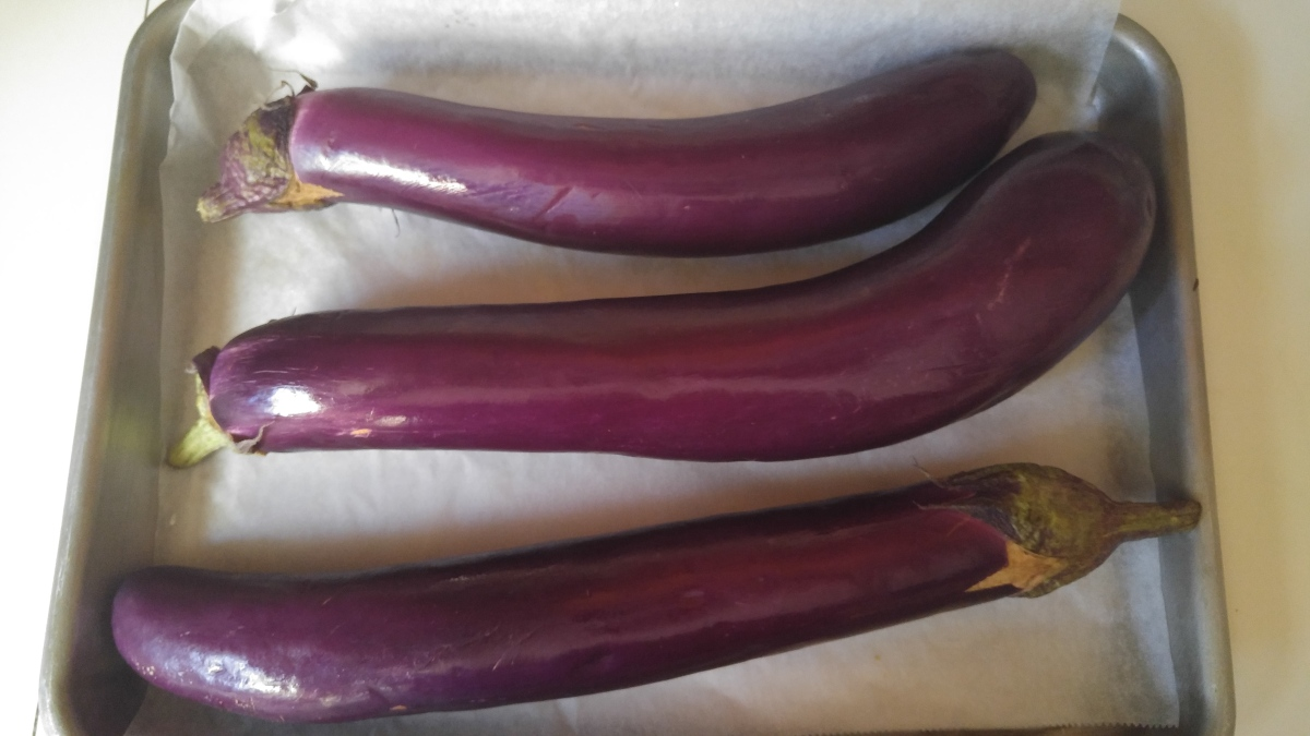 How To Roast And Peel Roasted Eggplants