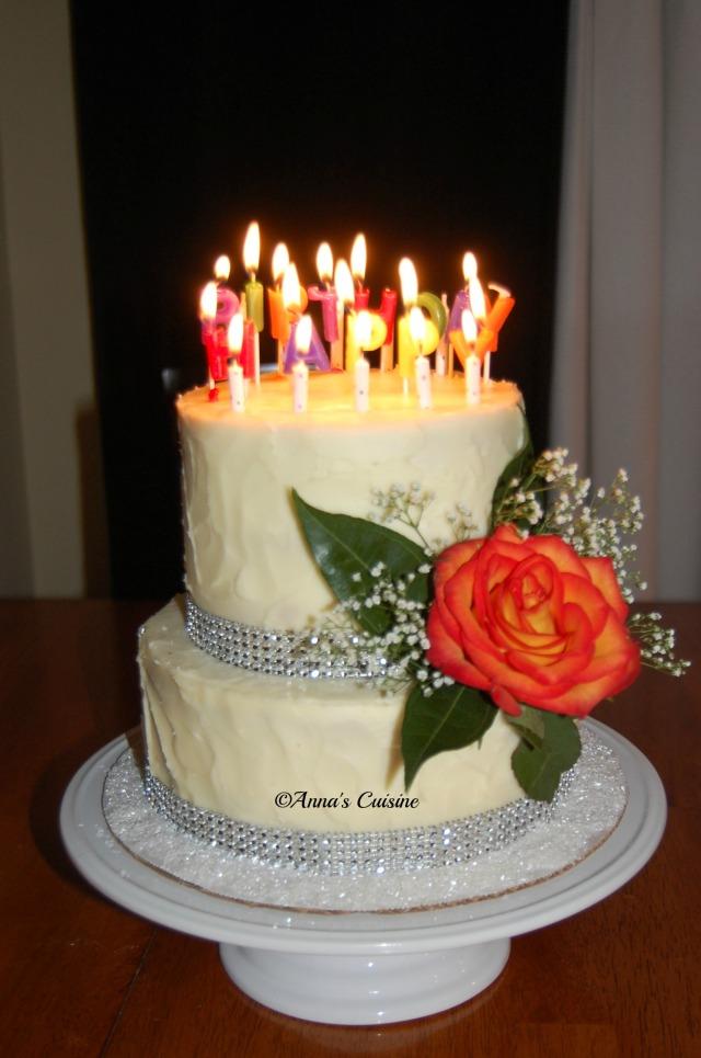 Anna's Birthday Cake 2015