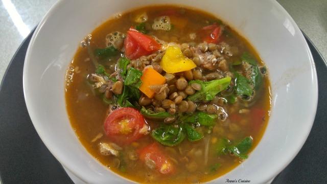 lentil soup by Anna's Cuisine 2