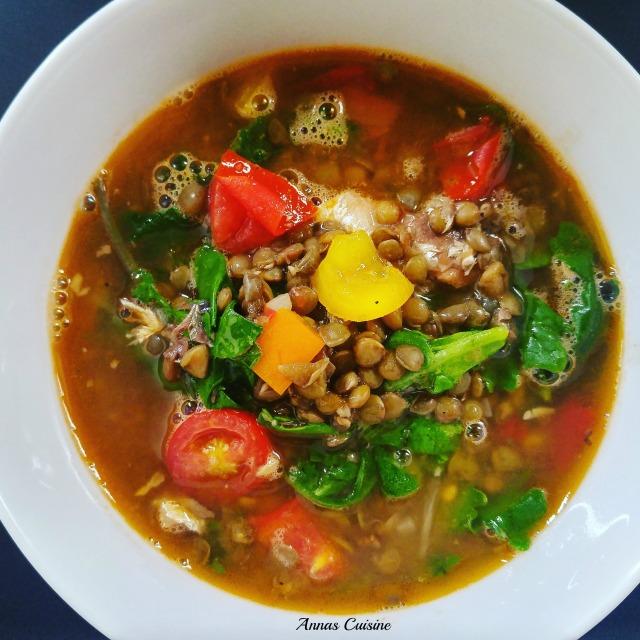 Lentil soup By Anna's Cuisine