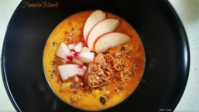 Pumpkin Muesli by Anna's Cuisine 2